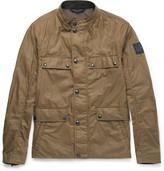 Belstaff - Leighwood Slim-fit Waxed-cotton Field Jacket
