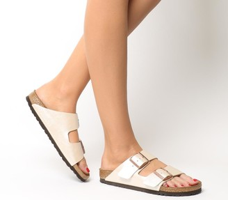 Birkenstock Arizona Two Strap Sandals Graceful Pearl White