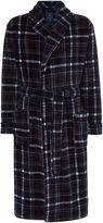 Howick Printed Check Fleece Robe