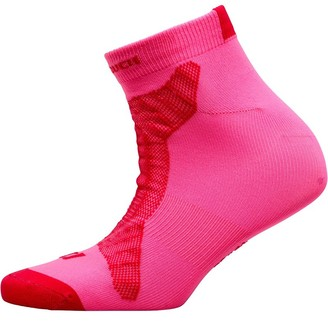 Pro Touch Womens Baxis UX Lightweight No Show Running Socks Pink/Red