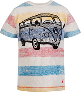 Monsoon Cale Striped Campervan T-Shirt