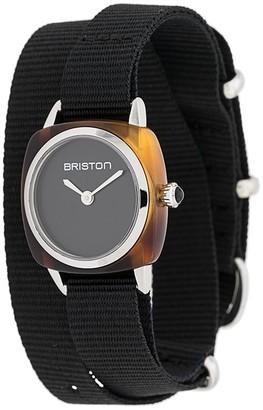Briston Watches Clubmaster wrap watch