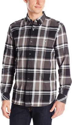 French Connection Men's Winter Checks Woven Shirt