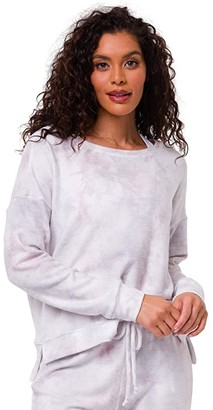 Onzie High-Low Sweatshirt (Cloud) Women's Clothing
