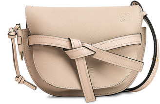 Loewe Gate Small Bag in Light Oak | FWRD
