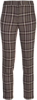 ADAM by Adam Lippes plaid cropped trousers