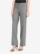 Calvin Klein Straight Houndstooth Plaid Suit Pants