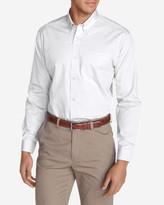 Eddie Bauer Men's Wrinkle-Free Slim-Fit Pinpoint Oxford Shirt - Solid