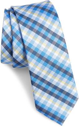 1901 Mug Plaid Silk Blend Tie