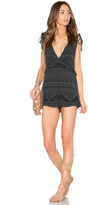 MinkPink Star Gazer Drawstring Playsuit
