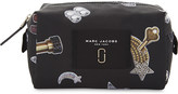 Marc Jacobs Large printed nylon cosmetics bag