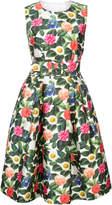 Oscar de la Renta sleeveless floral dress