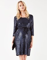 Mama Licious Mamalicious Maternity Sequin Jersey Dress
