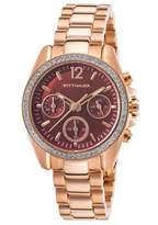 Wittnauer Wn4042 Women's Chrono Rose-Tone Stainless Steel Mop Dial Rose-Tone Ss Watch