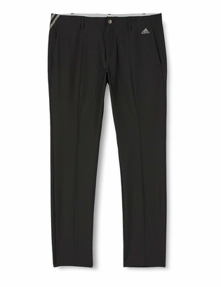 adidas Men's Ultimate 365 3-Stripes Tapered Pants Tracksuit Bottoms Black (Negro Dq2206) One (Size: 3432)