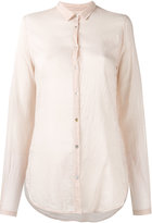 Forte Forte sheer shirt - women - Silk/Cotton - 00