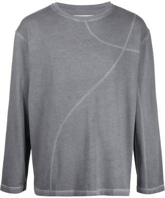 A-Cold-Wall* curved stitching jumper