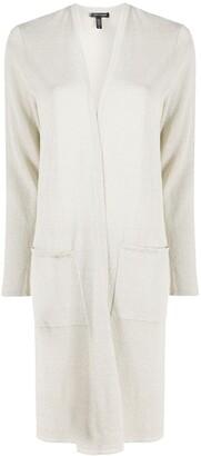 Eileen Fisher Glitter-Effect Cardi-Coat