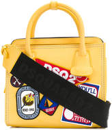 DSQUARED2 patch detail tote