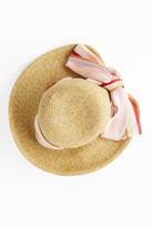 Missoni Srarf-Detail Beach Hat