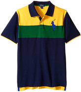 Polo Ralph Lauren Mesh Novel Polo Shirt (Big Kids)