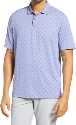 Cutter & Buck Forge Stretch Print Polo Shirt