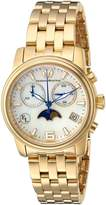 Technomarine Women's 'Eva Longoria' Quartz Stainless Steel Casual Watch, Color:Gold-Toned (Model: TM-416016)