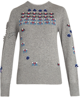 BARRIE Star Games cashmere sweater