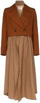Chloé checked shirt-style coat