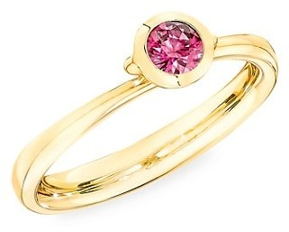 Tamara Comolli Bouton 18K Yellow Gold & Pink Spinel Ring