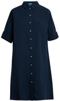 MiH Jeans Roller long-sleeved cotton shirtdress