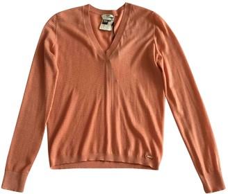 Fendi Orange Cashmere Knitwear for Women