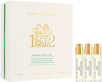 Clive Christian 3 x 0.25 oz. Original Collection 1872 Feminine Travel Refills