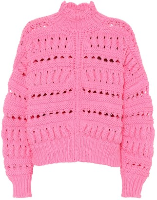 Isabel Marant Zoe cotton-blend sweater