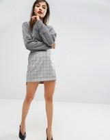 Asos Mini Skirt in Check