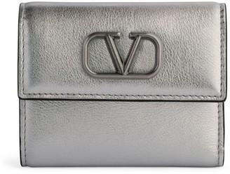 Valentino Garavani VLOGO Trifold Wallet