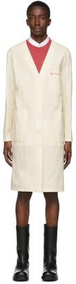 Raf Simons Off-White Classic Labo Coat