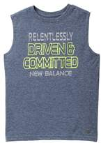 New Balance Sleeveless Graphic Tee (Big Boys)