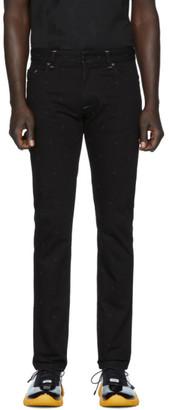 Fendi Black Micro FF Jeans