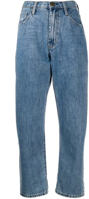 One Teaspoon Cropped Relaxed-Fit Jeans