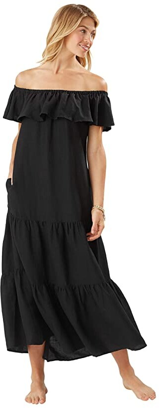 Thumbnail for your product : Tommy Bahama ST Lucia OTS Tier Maxi Dress
