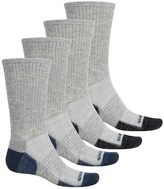 Weatherproof All-Purpose Outdoor Socks - 4-Pack, Crew (For Men)