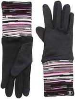 Champion Women's Space Dye Fleece Glove with Extended Knit Cuff