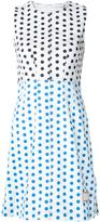 J.W.Anderson polka-dot panelled dress - women - Cotton/Spandex/Elastane - 8