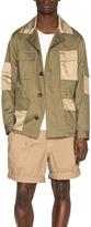Marc Jacobs Ottoman Stripe Field Jacket