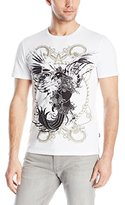Just Cavalli Men's Bird and Ropes Graphic Tee