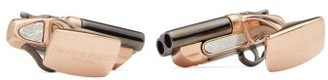 Deakin & Francis Shotgun Rose Gold-plated Cufflinks - Rose Gold