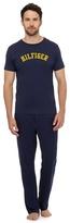 Tommy Hilfiger Navy Logo T-shirt And Trousers Pyjama Set