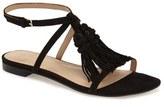 Marc Fisher Women's 'Crystal' Tassel Flat Sandal
