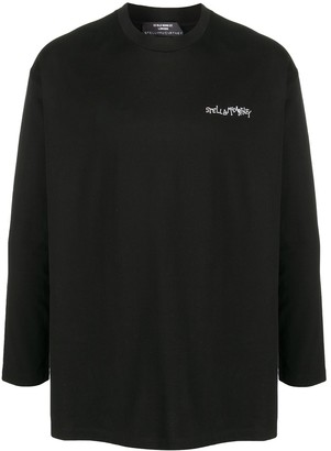 Stella McCartney graphic print long-sleeve T-shirt